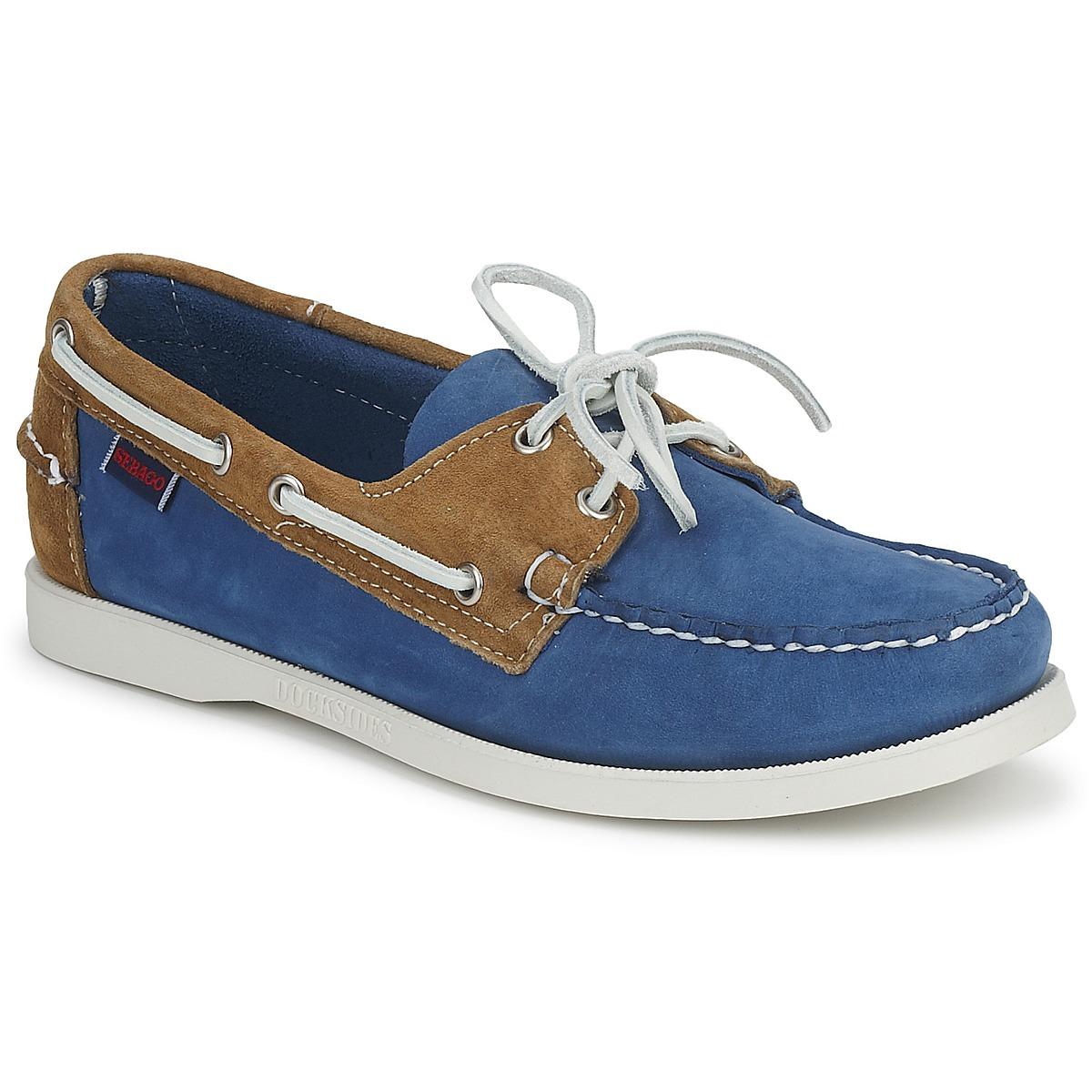 Sebago SPINNAKER - Boat shoes - blue/sand