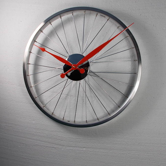 Bicycle Wheel Clock | iVIP BlackBox