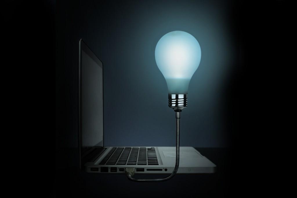 Lightbulb Idea: Bright Idea USB Lightbulb