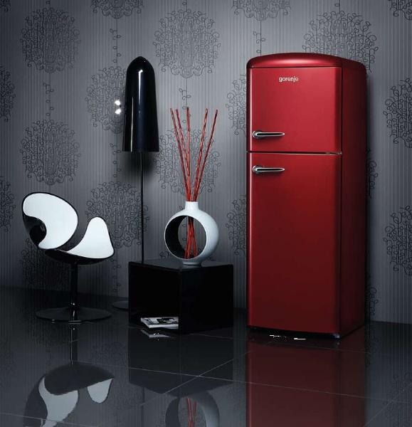 gorenje retro fridge freezer ivip blackbox. Black Bedroom Furniture Sets. Home Design Ideas