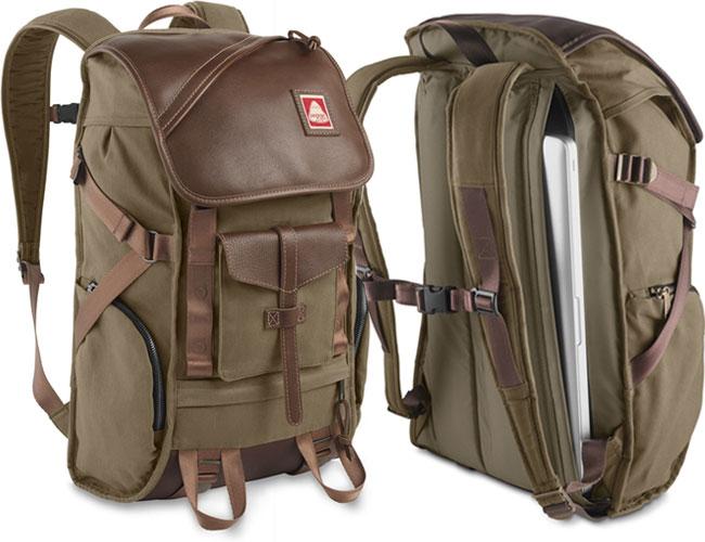 JanSport x Skip Yowell Pleasanton Leather Bag Green | iVIP BlackBox