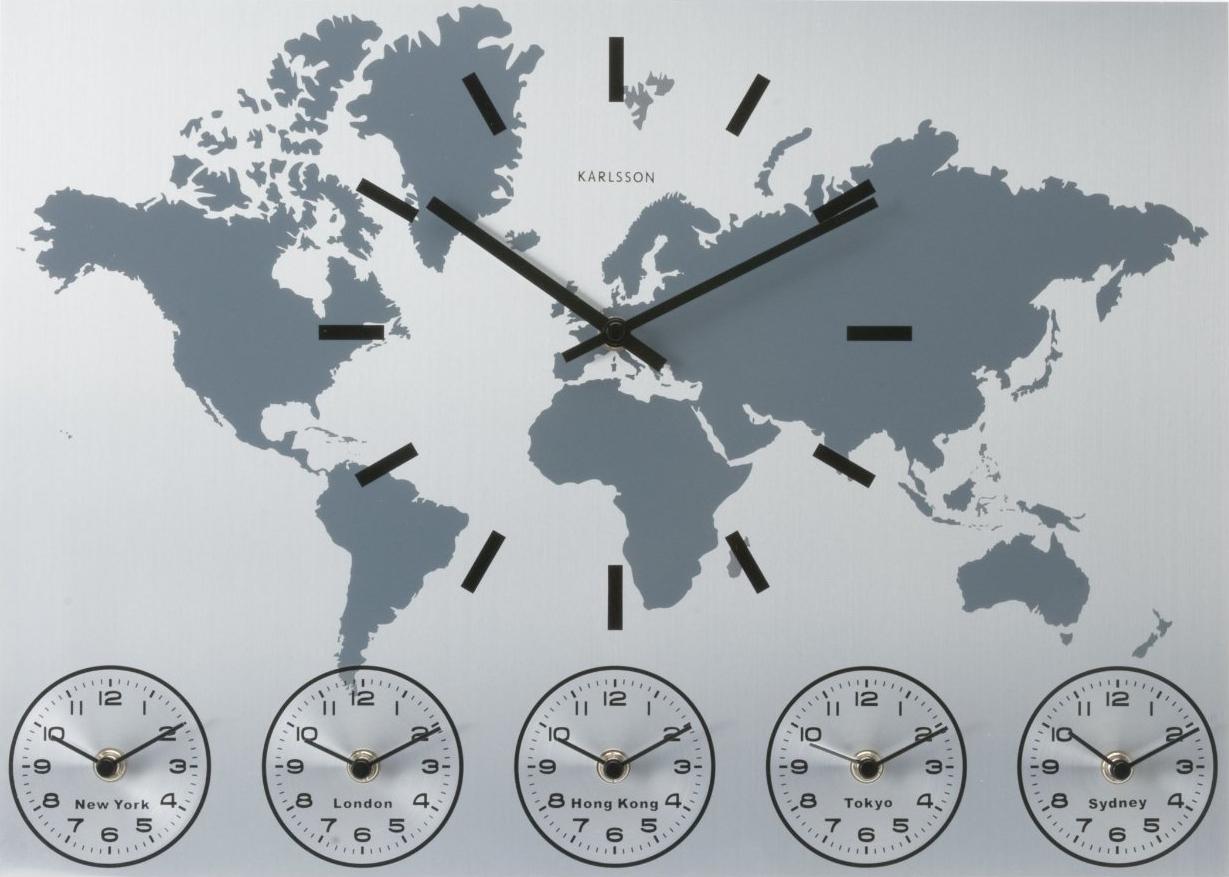World Clock By Karlsson Ivip Blackbox
