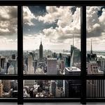 New York Window City Print   iVIP BlackBox