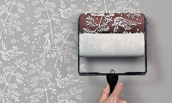 Patterned Paint Roller | iVIP BlackBox