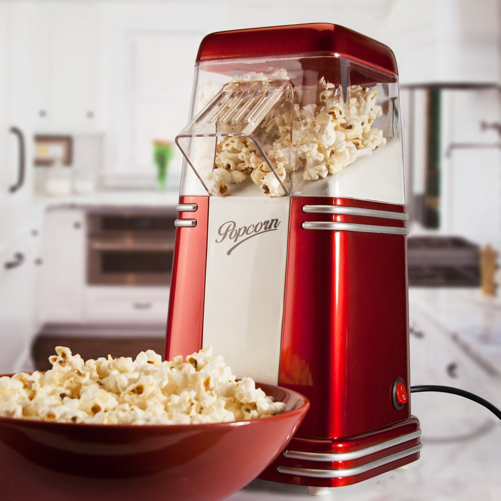 Retro Popcorn Maker   iVIP BlackBox