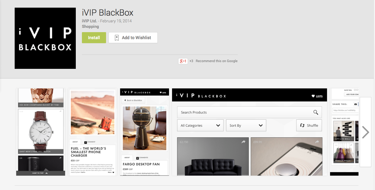 ivip blackbox android