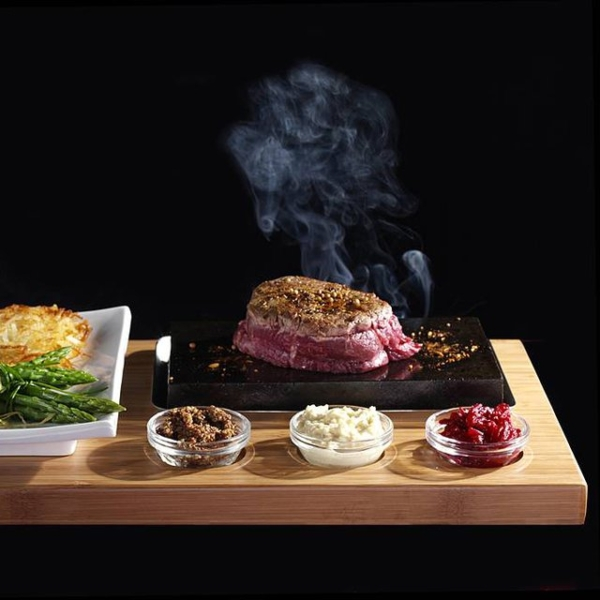 SteakStones Sizzling Steak Set | iVIP BlackBox