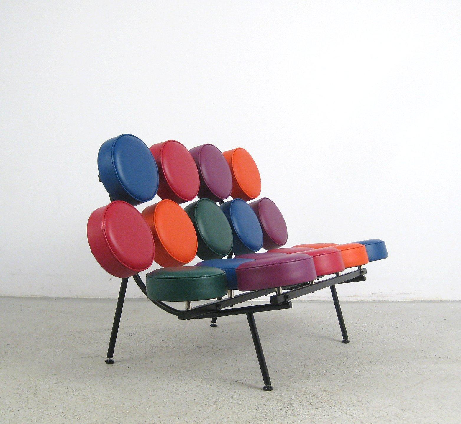 Vitra Marshmallow Sofa By George Nelson