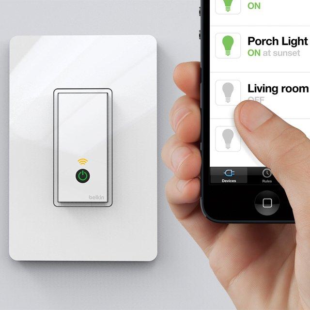 Wi Fi Lightswitch By Wemo Ivip Blackbox