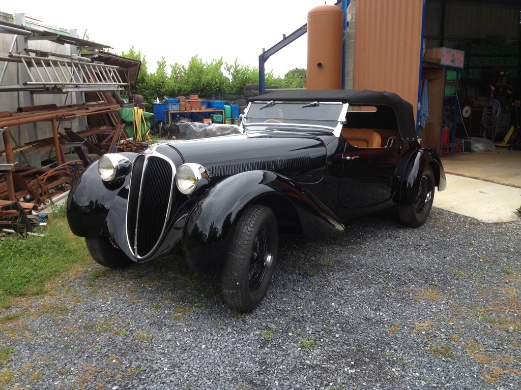 1938 Delahaye 135 MS Roadster Front