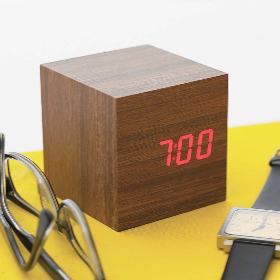 BlackBox   iVIP   Wooden Digital Clocks by Gingko