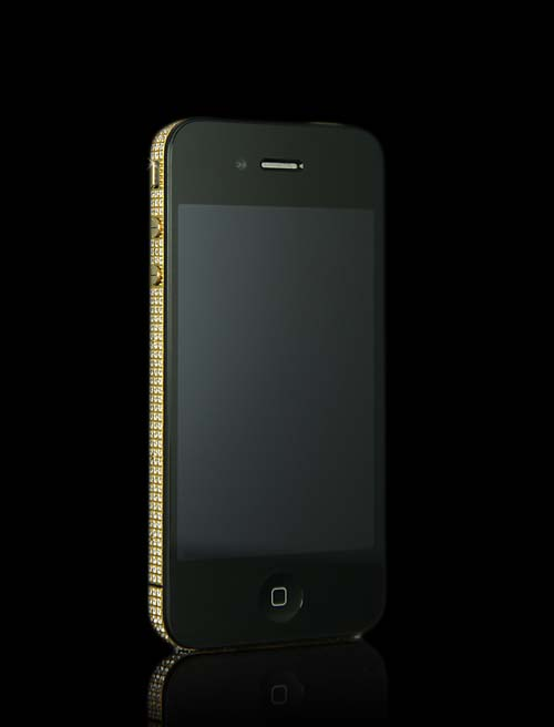 Gold iVIP iPhone Front