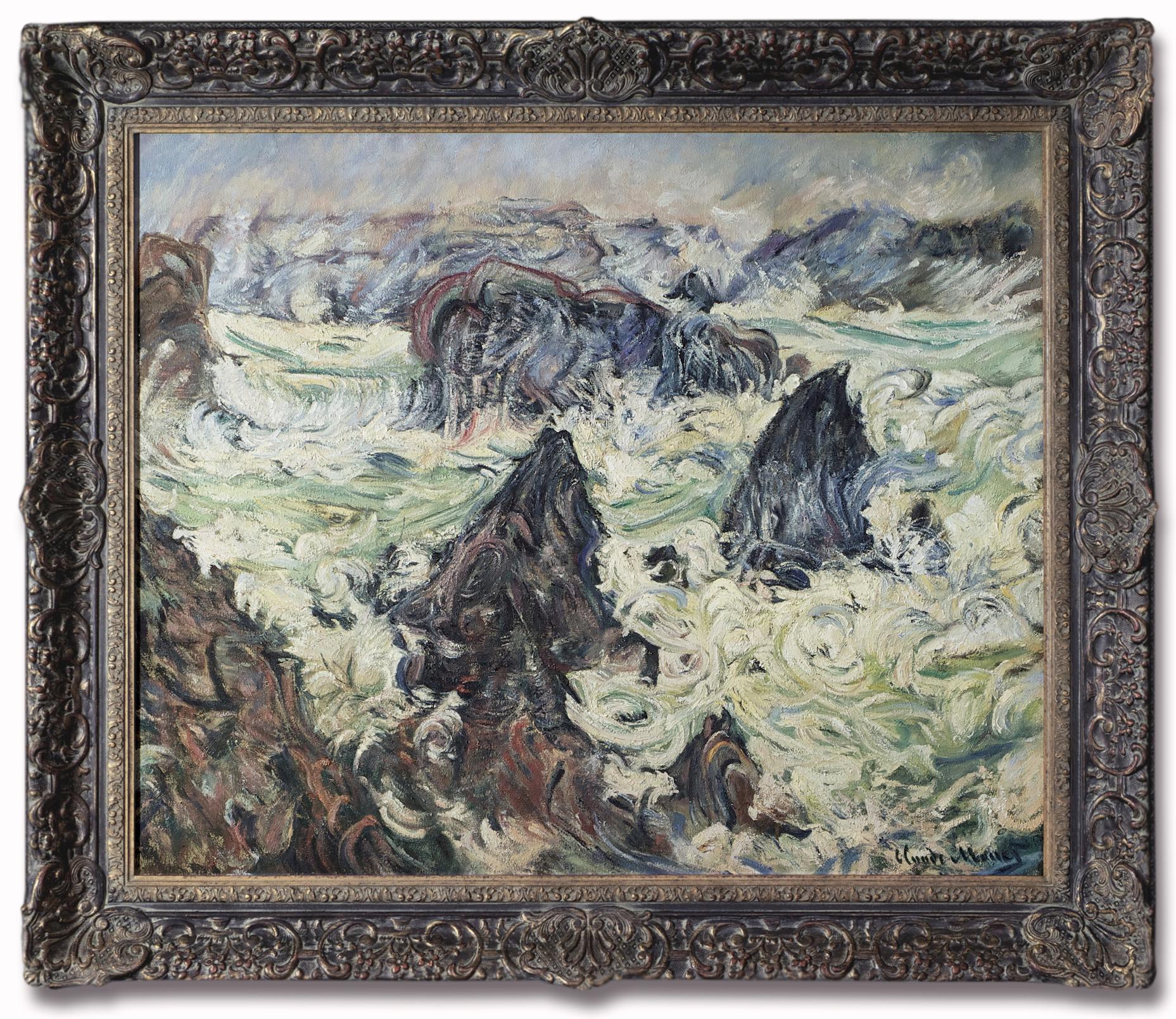 Claude Monet - Storm at the Cote de Belle-Ile 1886