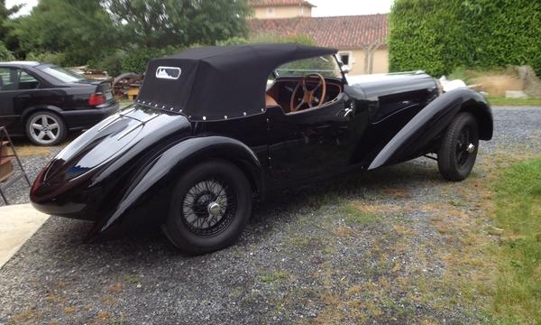 1938 Delahaye 135 MS Roadster Side